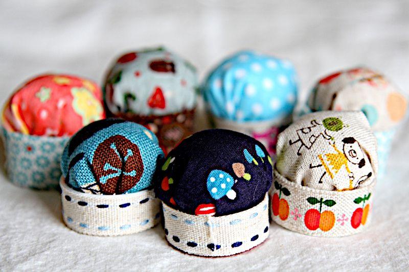 tiny pincushions