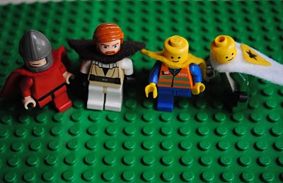 LEGO Capes Step 4